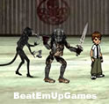 Ben10 vs Predators