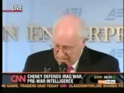 Dick Cheney Gets The X