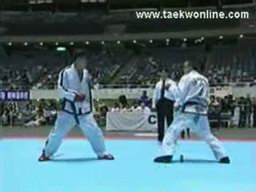 Guy Gets Kicked In The Face In Taekwondo